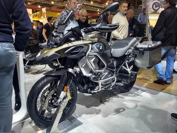 EICMA 2018: 1,254 cc इंजन से लैस BMW की एडवेंचर टूअरर बाइक पेश