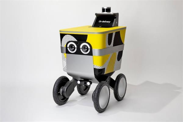 22kg तक सामान को डिलीवर करने के काम आएगा Serve रोबोट