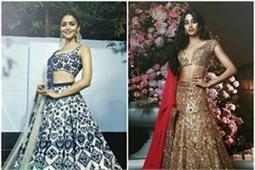 Ambani Wedding: इन 10 दीवाज ने चूज की 'मनीष मल्होत्रा' की डिजाइनर ड्रेस (See Pics)