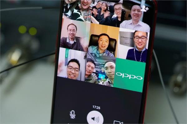Oppo ने की दुनिया में पहली बार Multiparty Video Call