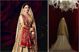 शादी में डिजाइनर अबू जानी संदीप खोसला के लंहगे में दिखी ईशा, देखिए तस्वीरें