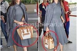 लाखों का बैग पकड़ एयरपोर्ट पर स्पॉट हुई मलायका अरोड़ा