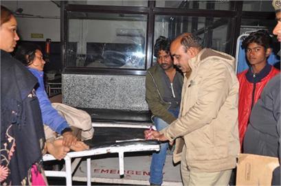 two injured