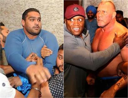 indian wrestler