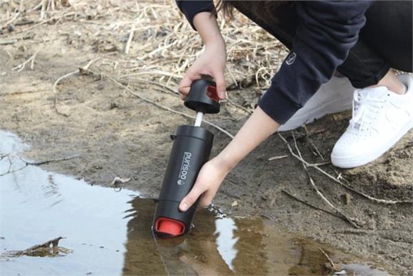 बिना किसी झंझट के पानी को साफ करेगी Purisoo बोतल