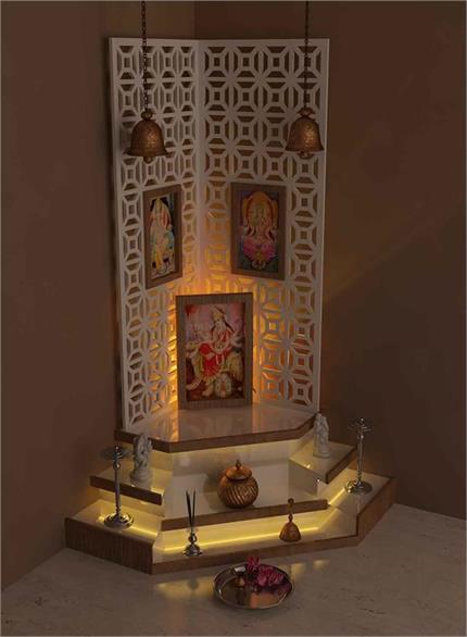 नवरात्रि व्रत के दौरान ऐसे करें सफाई, चमक जाएगा मंदिर