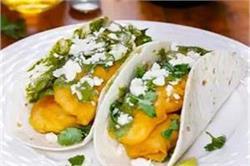 ब्रेकफास्ट में बनाएं क्रिस्पी Fish Tacos