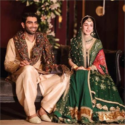 Royal Wedding: पाकिस्तान के इस जोड़े ने पहनी सब्यसाची की ड्रैस, देखिए...