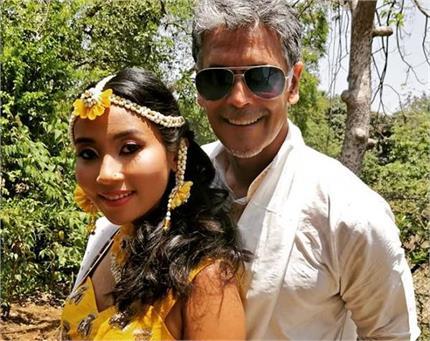मिलिंद-अंकिता की शादी की रस्में हुई शुरू, हल्दी सेरेमनी पर इस अंदाज...