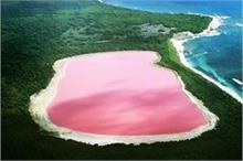 दुनिया की सबसे अनोखी 'गुलाबी झील', टूरिस्ट की लगी रहती है...