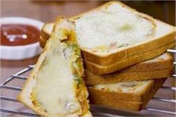 बेक करके बनाएं यम्मी Veggie Toast