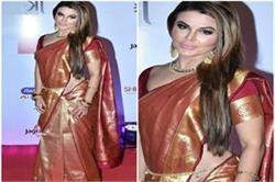 अवॉर्ड शो में ट्रैडीशनल लुक में नजर आईं हॉट बॉलीवुड की हॉट एक्ट्रेस Rakhi