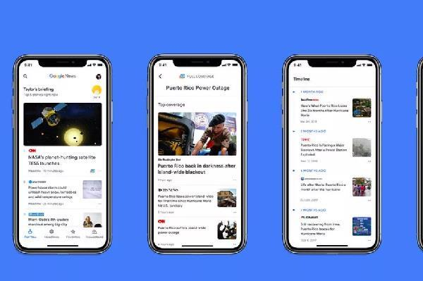गूगल का आर्टिफिशियल इटेलीजेंस से लैस न्यूज एप्प iOS पर हुअा उपलब्ध
