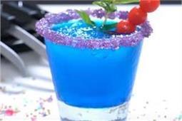 कोल्ड ड्रिंक नहीं, मेहमानों को परोसें Black Panther Frozen Drink