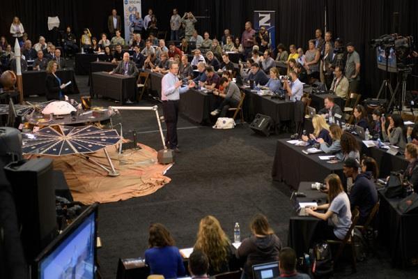 आज लांच होगा NASA का 'इनसाइट' मिशन, मंगल ग्रह के खुलेंगे कई राज