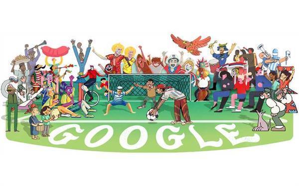 FIFA World Cup 2018 के मौके पर गूगल ने बनाया नया डूडल