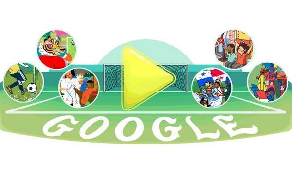 फीफा विश्व कप के 5वें दिन के मौके पर गूगल ने बनाया नया डूडल