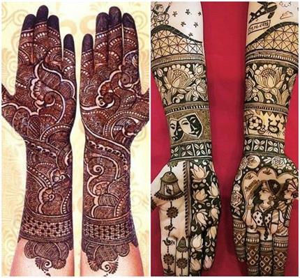 Mehndi Designs: दुल्हन के हाथों को खूबसूरत बना देंगे ये लेटेस्ट...