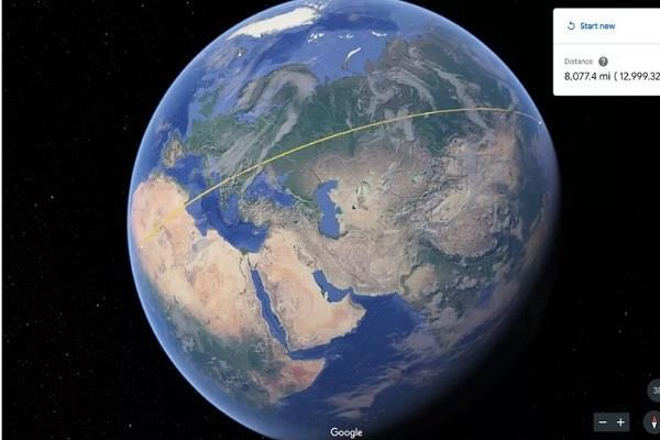 Google Earth में शामिल हुआ नया टूल, बिल्डिंग का क्षेत्रफल मापने में होगी आसानी
