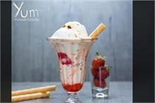 गर्मी में मेहमानों के लिए बनाएं स्ट्रॉबेरी फालूदा