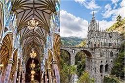नदी के ऊपर बना है यह खूबसूरत चर्च, Architecture का अनूठा संगम