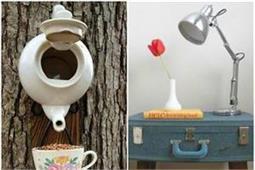 घर को Creative Look देने के लिए पुरानी चीजों का एेसे करें रियूज