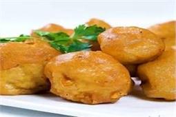 घर पर ऐसे बनाएं स्वादिष्ट मशरूम पकौड़ा