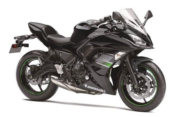 आकर्षक कलर में लांच हुअा Kawasaki Ninja 650 का नया वर्जन