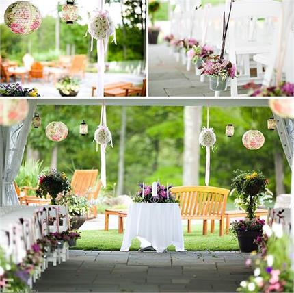 Wedding Decor: शादी में इन यूनिक स्टाइल से करें बैकयार्ड डैकोरेशन