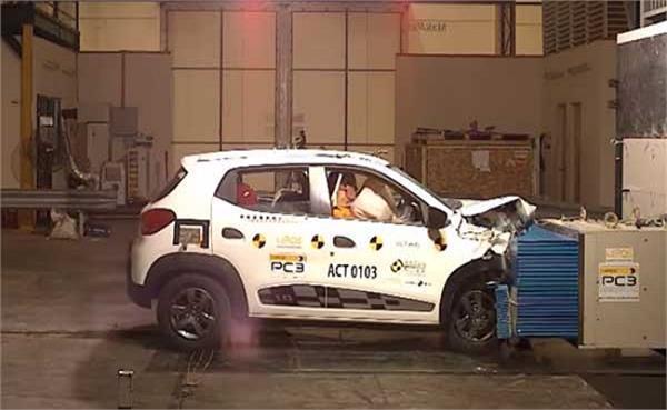 Renault की इस कार को क्रैश टेस्ट में मिली जीरो रेटिंग, जानें डिटेल्स