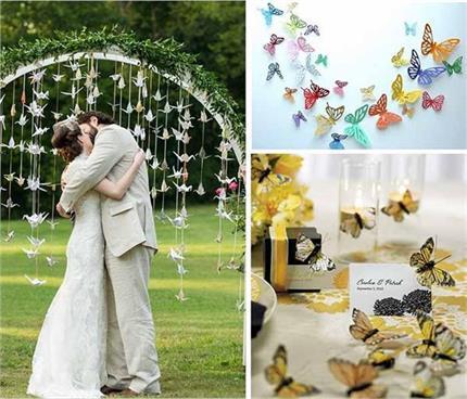 वैडिंग डैकोरेशन के लिए ट्राई करें Butterflies Wedding थीम और हर पल को...