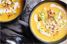घर पर बनाएं गर्मा-गर्म पम्पकिन एंड पीनट बटर सूप