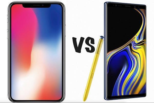 जानें Galaxy Note 9 और iPhone X में कौन है बेहतर