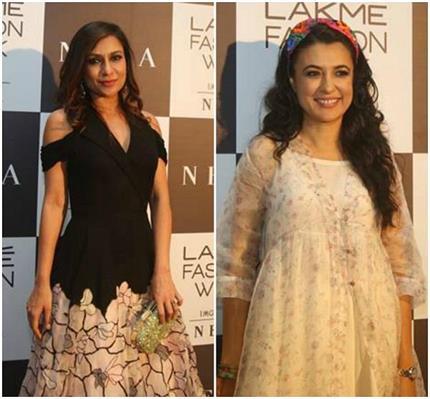 LFWwf18: फैशन शो के दूसरे दिन डिजाइनर्स ड्रैसेज में नजर आए ये सितारें