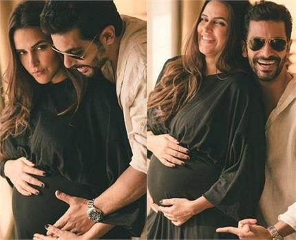 पति अंगद के साथ बेबी बंप फ्लॉट करती दिखीं नेहा, Confirmed हुई...