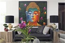 Decor Ideas: बुद्धा की पेंटिंग से सजाएं घर, आएगी खुशहाली- Nari