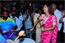 Ganpati Visarjan: शिल्पा शेट्टी ने पति के साथ किया जमकर डांस