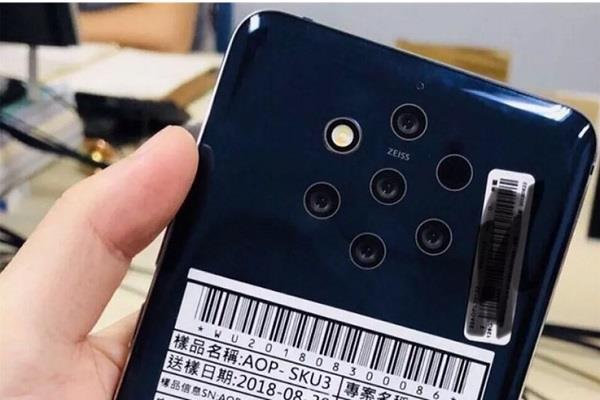 Nokia जल्द लांच कर सकती है 5 रियर कैमरों वाला स्मार्टफोन