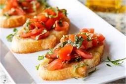 बच्चों के लिए हैल्दी और टेस्टी स्नैक्स है Tomato Bruschetta - Nari