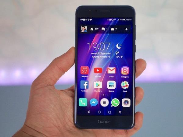 भारत समेत यूरोप के इन देशो में Honor 8 को मिला Android Oreo अपडेट