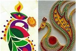 Festival Special: खूबसूरत रंगोली से बढ़ाएं घर की रौनक -Nari