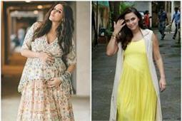 प्रैग्नेंसी में भी कूल दिखना है तो ट्राई करें नेहा का Maternity Style