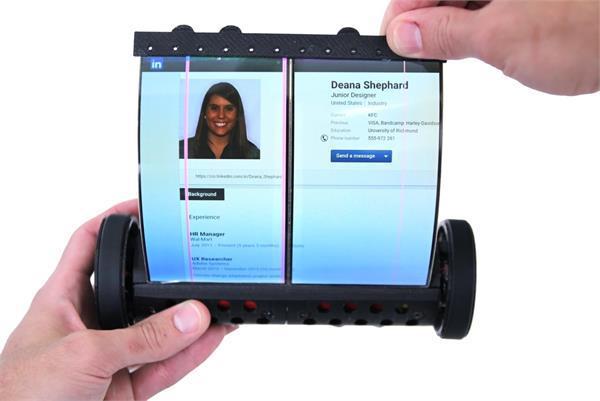 बनाया गया दुनिया का पहला टच स्क्रीन फोल्डेबल टैबलेट
