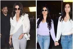 Airport Look! ईशा की सगाई अटेंड कर मुंबई पहुंचे सितारे