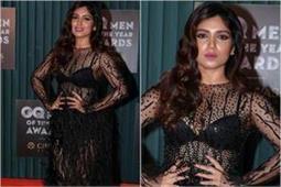 GQ Awards 2018: ब्लैक ड्रैस में काफी मोटी दिखी Bhumi Pednekar