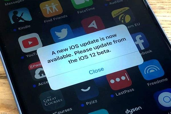 लेटेस्ट डेवलपर बीटा अपडेट के साथ एप्पल ने फिक्स किया iOS 12 बीटा बग