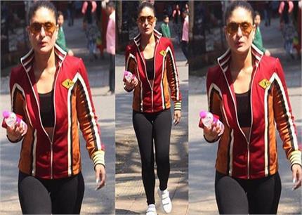 करीना कपूर ने जिम में पसीना बहाने के लिए पहनी इतनी महंगी जैकेट!-Nari
