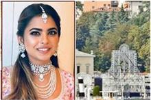 Isha Ambani Engagement: इंडियन वेडिंग थीम पर सजा विला,...