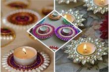 Diwali 2019: घर पर खुद 5 मिनट में सजाएं दीया थाली