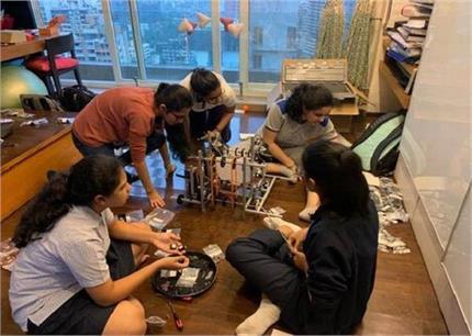 रोबोटिक्स ओलिंपिक 2019 मेें पहली बार भाग लेंगी भारतीय लड़कियों की टीम